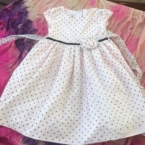 Marmellata light pink polka dot tulle dress